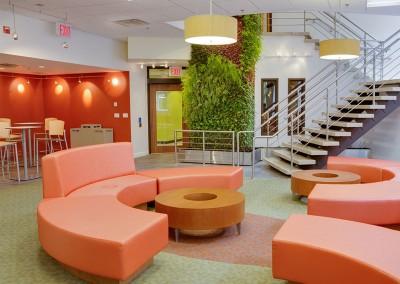 Columbia University lounges